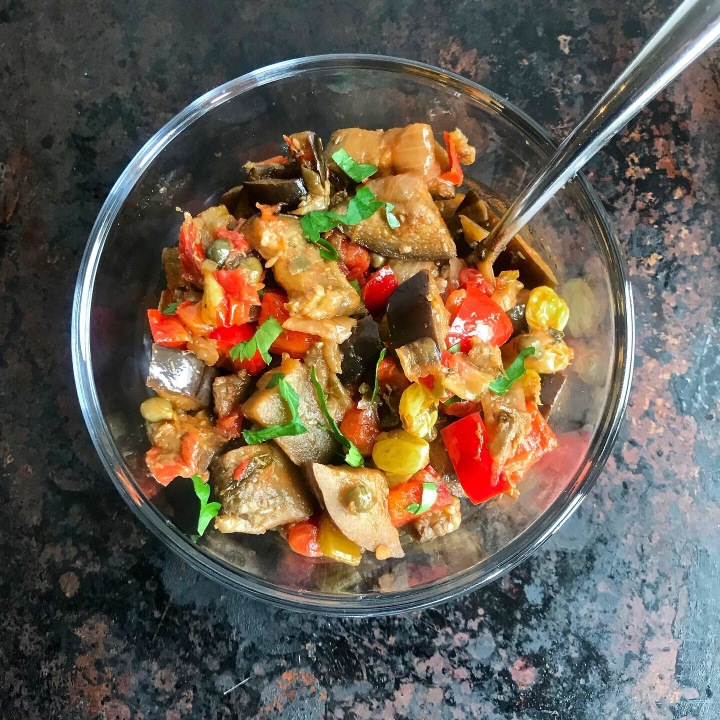 Caponata with Preserved Lemon and Balsamic
