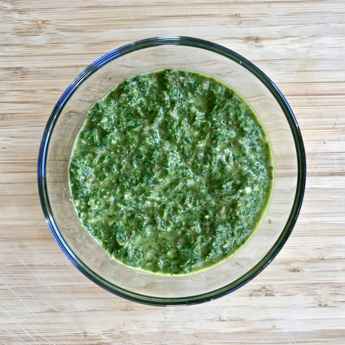 Salsa Verde (Italian style) #superfooddaily