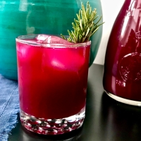 Grapefruit, Beet, and Rosemary Agua Fresca
